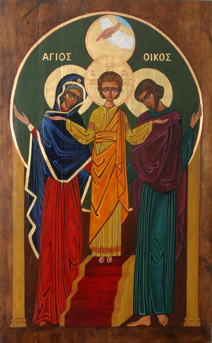 ikona sw. rodziny